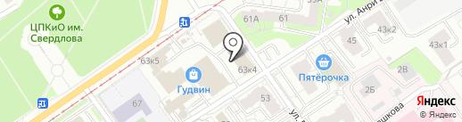 СветКомплект на карте Перми