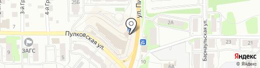 Покровский хлеб на карте Перми
