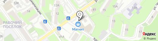 Сталь-индустрия на карте Перми