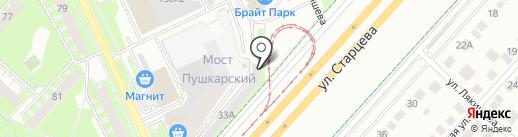 Авто Бан на карте Перми
