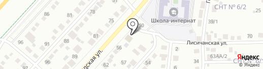 Поставщик на карте Перми