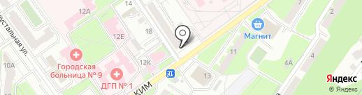 Магазин разливных напитков на карте Перми