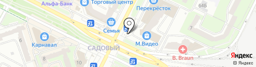 Караван на карте Перми