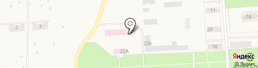 Пермская центральная районная больница на карте Звездного