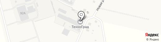 ТЕХНОГРАД на карте Лобаново