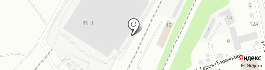 Авангард-Полимер на карте Перми