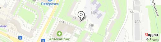ДАКАР на карте Перми