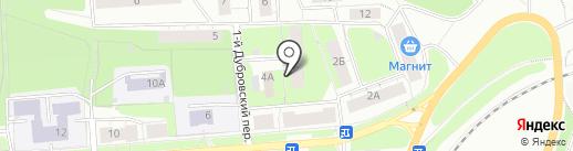ДЮСШ армейского рукопашного боя на карте Перми