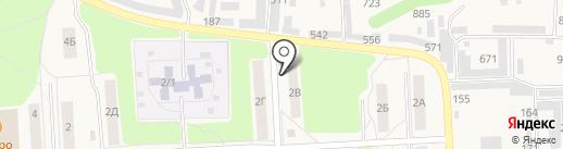 Магазин автозапчастей на карте Звездного