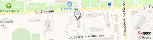 Специальное управление ФПС №34 МЧС России на карте Звездного