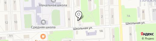Мясной магазин на карте Звездного