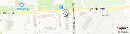 Городская библиотека ЗАТО Звёздный на карте Звездного