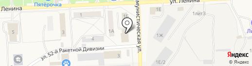 Пожарная часть №22 на карте Звездного