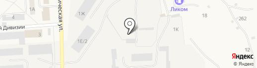 Гараж, МУП на карте Звездного