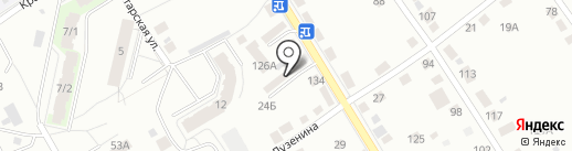 Стром на карте Перми