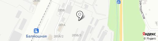 Торгово-производственная компания на карте Перми