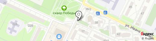 Хлебная лавка на карте Перми