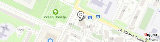 Магазин детской одежды на карте Перми