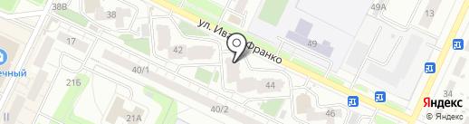 АКИБ Почтобанк на карте Перми
