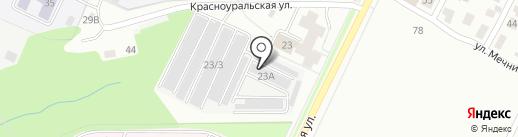 Centr Vmyatini на карте Перми