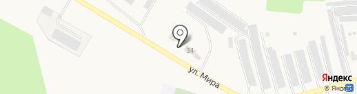 Евромойка на карте Бершетя