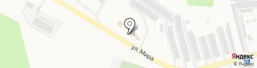 Автокомплекс на карте Бершетя