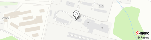 Юхан на карте Перми