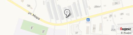 Шиномонтажная мастерская на карте Бершетя