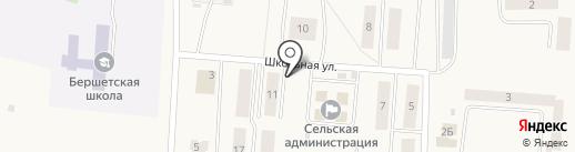 Кафетерий на карте Бершетя