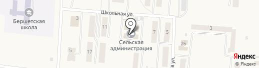 Мировые судьи Пермского судебного района на карте Бершетя