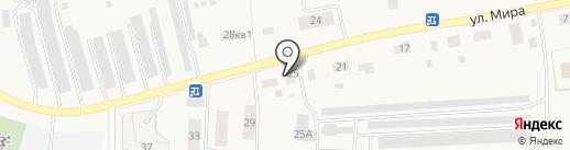 Автомойка на карте Бершетя