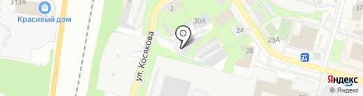 Автосервис на Молодежке на карте Перми