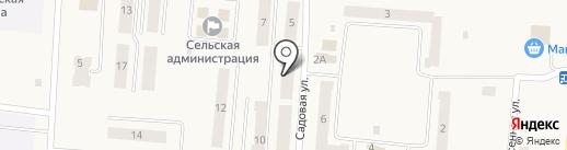 Банкомат, Западно-Уральский банк на карте Бершетя