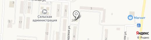 Ским на карте Бершетя