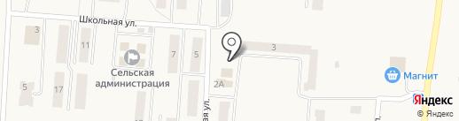 Магазин на Садовой на карте Бершетя