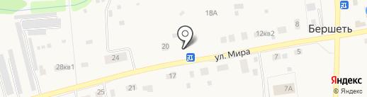 Мемориал на карте Бершетя