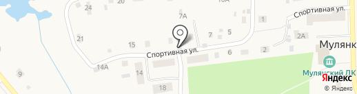 Продуктовый павильон на карте Мулянки