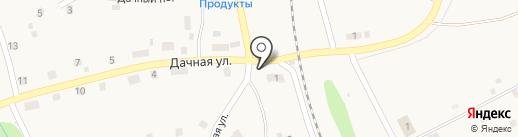 Продуктовый магазин на Южной на карте Мулянки