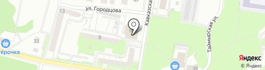 Лион на карте Перми