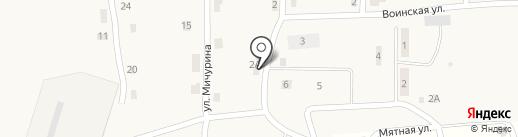 Монетка на карте Мулянки