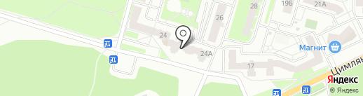 Солнышко на карте Перми