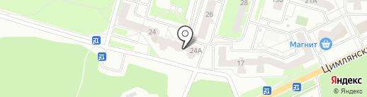 Магазин косметики и парфюмерии на карте Перми