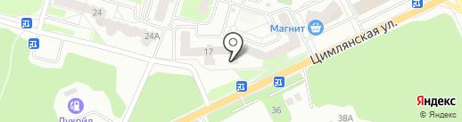 Магазин автозапчастей для ВАЗ, ГАЗ на карте Перми