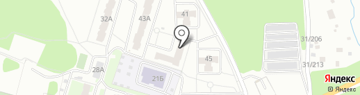 Магазин оптики на карте Перми
