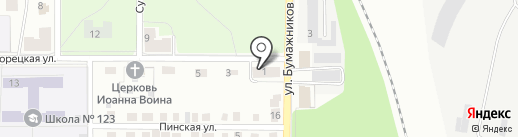 Головановская энергетическая компания на карте Перми