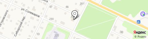 Магазин-пекарня на карте Усолья