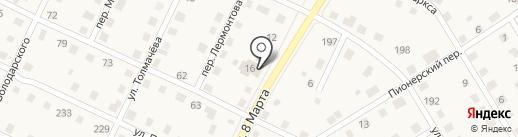 Золотой Теленок на карте Усолья