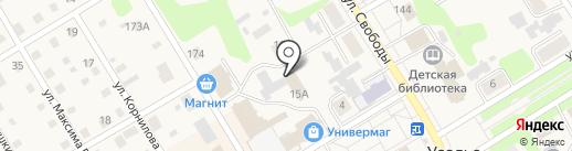 Усольский районный суд Пермского края на карте Усолья