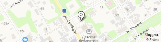 Единая дежурно-диспетчерская служба Усольского района на карте Усолья