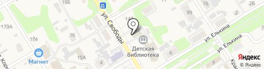 Земское собрание Усольского муниципального района на карте Усолья